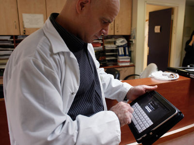 Skype chats with UK doctors to rescue budget but endanger lives?