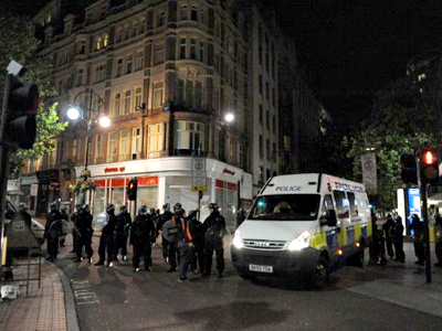 Britain burning: Riot madness spreads across UK