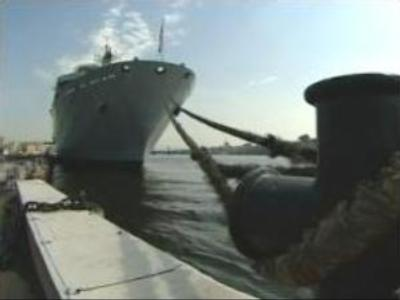 UK navy cadets explore Russia