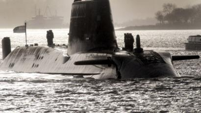HMS Astute, the British Royal Navy's latest nuclear hunter killer submarine (AFP Photo/Andy Buchanan)