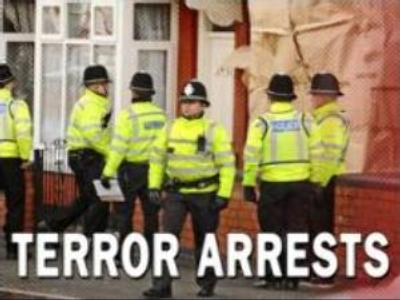 UK police arrest 9 in Anti-Terror Raid