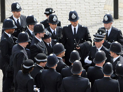 Bailout Britain cuts 10% of frontline cops