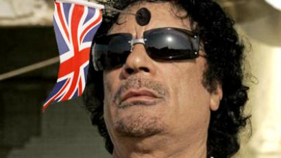 "UK Defence Secretary Liam Fox said Gaddafi could be a ""legitimate target"""