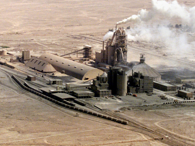A phosphate complex at al Qaim, Iraq, where 'Station 22' secret camp was set up. Reuters / Faleh Kheiber