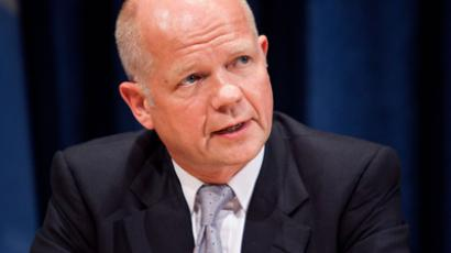 William Hague, foreign secretary of the United Kingdom (AFP Photo /  Andrew Burton)