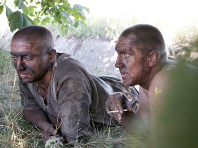 Miners at Sukhodolsk-Vostochnaya mine in Lugansk region where methane explosion killed 26 (RIA Novosti / Irina Aleksandrova)