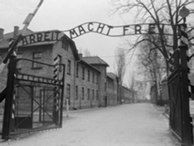 Auschwitz camp gates