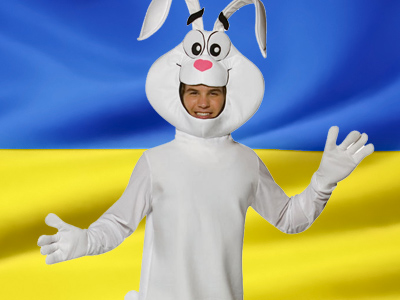 Ukrainian parliament braces for bunnies and psalms