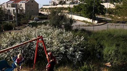 The illegal Ulpana outpost, adjacent to the Beit El Jewish settlement. (AFP Photo / Gali Tibbon)
