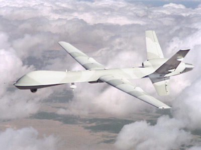 A US Predator unmanned drone (AFP Photo)