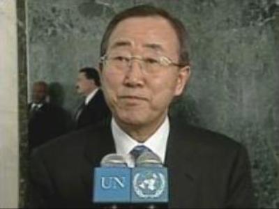 UN Secretary General tours Africa