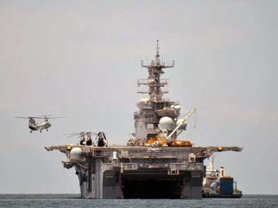 US gears up for land operation in Persian Gulf?