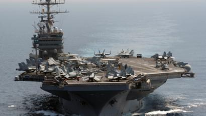 USS Abraham Lincoln (Reuters / U.S. Navy / Chief Mass Communication Specialist Eric S. Powell / Handout)