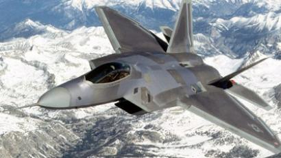 F-22 Raptor fighter jet (Lockheed Martin via Getty Images / AFP)