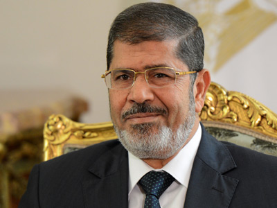 Egyptian President Mohamed Morsi (AFP Photo / Khaled Desouki)