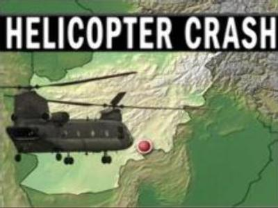 U.S. helicopter crashed in Afghanistan