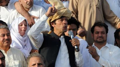 Pakistani politician Imran Khan (AFP Photo / A Majeed)