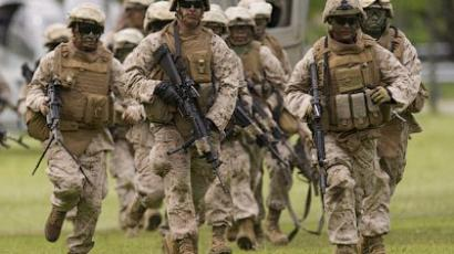 US marines (AFP Photo / Don Emmert)