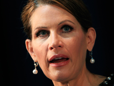 U.S. Rep Michele Bachmann (R-MN) speaks at the Commonwealth Club in San Francisco, California (Reuters / Robert Galbraith)