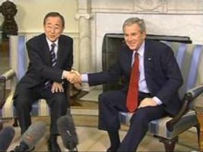 U.S. President and UN Secretary General address the global issues