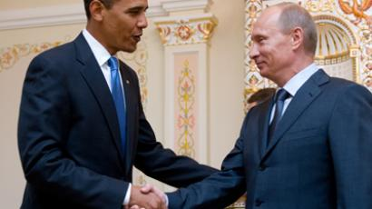 Barack Obama (L) and Vladimir Putin (AFP Photo / Saul Loeb)