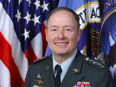 General Keith Alexander, Director of the NSA and Commander of U.S. Cyber Command (AFP Photo/NSA)