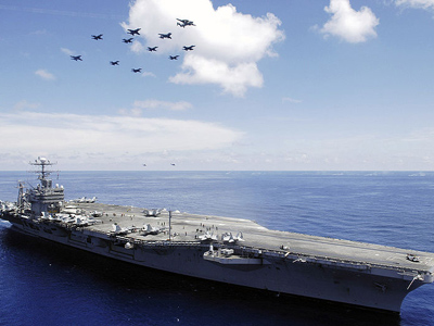 USS Abraham Lincoln (CVN 72) (U.S. Navy photo / Jordon R. Beesley)