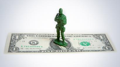 Military contracting last defense in bad US economy