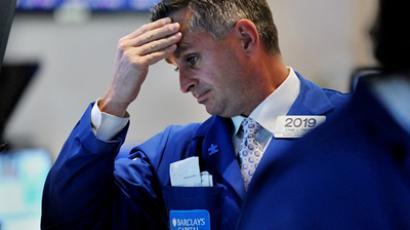 New York Stock Exchange August 8, 2011 (AFP Photo / Getty Images)
