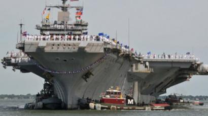 The aircraft carrier USS Enterprise (AFP Photo / US Navy)