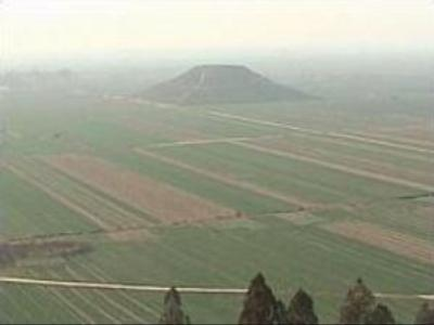 Massive Pyramid, Lost City and Ancient Sacrifice Site Unearthed In China 466e8e02f1562