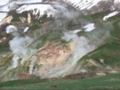 Valley of Geysers is recovering in Russia