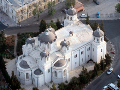 Vandals deface Russian sacred place in Jerusalem