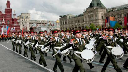 This year's Moscow parade is the largest-scale in Russian modern history (RIA Novosti / Eugeny Samarin)