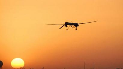 An Air Force MQ-1B Predator unmanned aerial vehicle going out on patrol from Balad Air Base, Iraq (AFP Photo / US AIR FORCE)