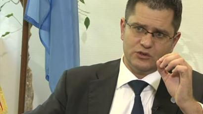 UNGA President Vuk Jeremic speaks to RT's Marina Portnaya