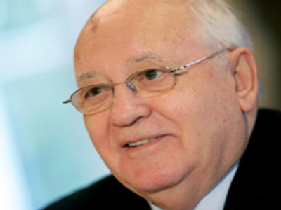 Mikhail Gorbachev (AFP Photo / Marcel Van Hoorn)
