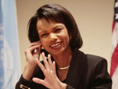 Condoleezza Rice (Chris Hondros /Getty Images / AFP)