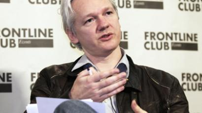WikiLeaks founder Julian Assange speaks at a news conference in London, February 27, 2012 (Reuters / Finbarr O'Reilly)