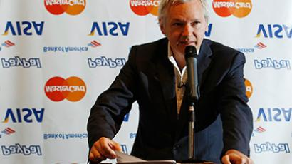 WikiLeaks founder Julian Assange speaks during a news conference at the Frontline Club in London October 24, 2011 (Reuters/Luke MacGregor)
