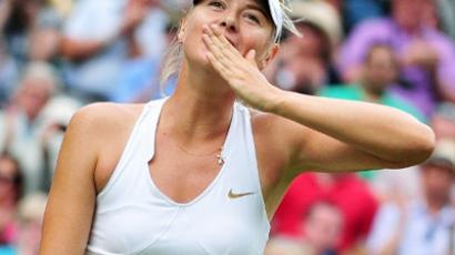 Russian tennis player Maria Sharapova is roaring back towards the top, playing in her second Wimbledon final. Maria Sharapova (AFP Photo / Leon Neal)