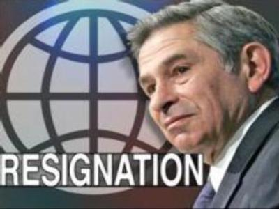 Wolfowitz to leave World Bank