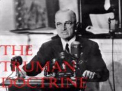 60 years since Truman Doctrine
