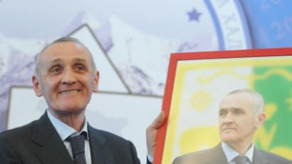 South Ossetia elects president in first poll since war