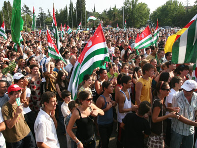 Abkhazia rules out reunion with Georgia