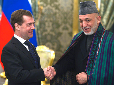 Afghanistan and Russia remember their history while looking to the future