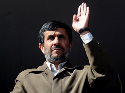 "Ahmadinejad slams Russia for selling out to ""Satan"""