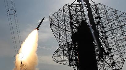 The launch of a Russian S-300 missile (RIA Novosti/Aleksey Kudenko)