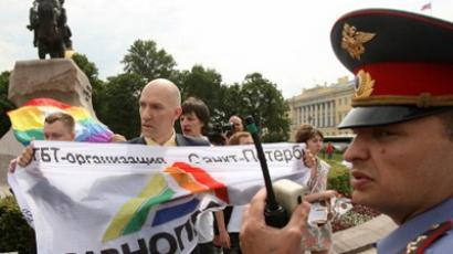 Gay abandon: Orthodox activists want Moscow free of 'temptation'