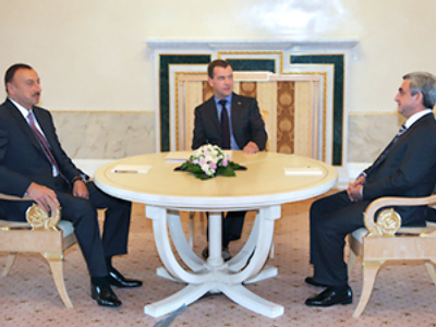The road to reconciliation - Armenia, Azerbaijan hold talks in St. Petersburg